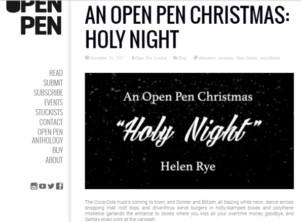 An Open Pen Christmas